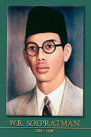 gambar-foto pahlawan nasional indonesia, WR. Supratman