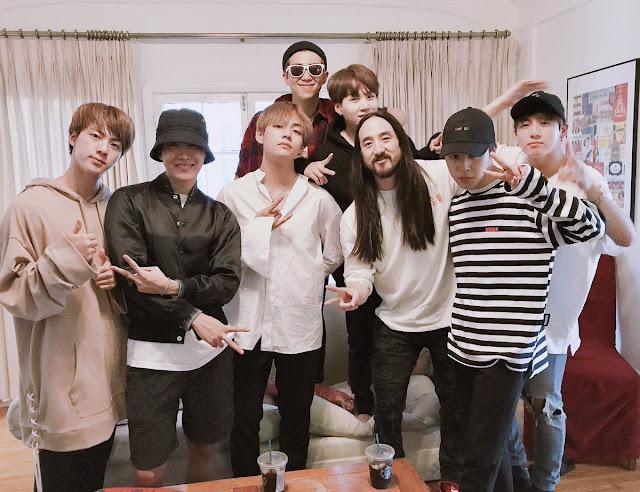 BTS dan Steve Aoki Akan Segera Berkolaborasi!