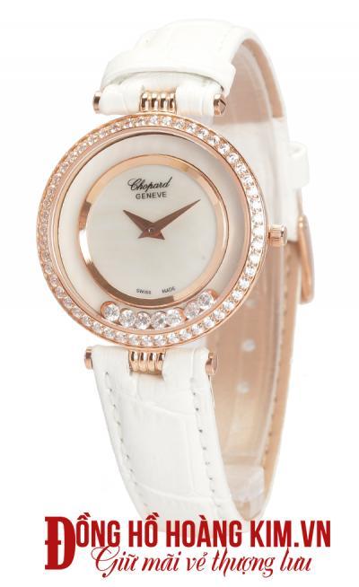 mua đồng hồ nữ dây da trắng