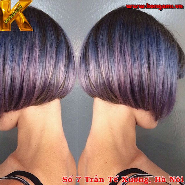hair color, nhuộm, galaxy
