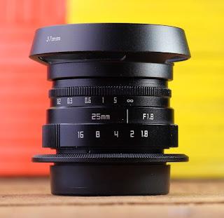 Lensa Fix 25mm f1.8 untuk Olympus M4/3 Mirrorless
