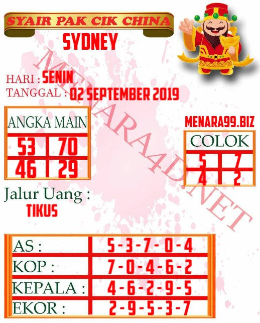 syair sdy, forum syair sydney