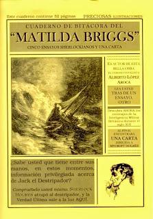 """Cuaderno de bitácora del """"Matilda Briggs"""", por Alberto López Aroca"""
