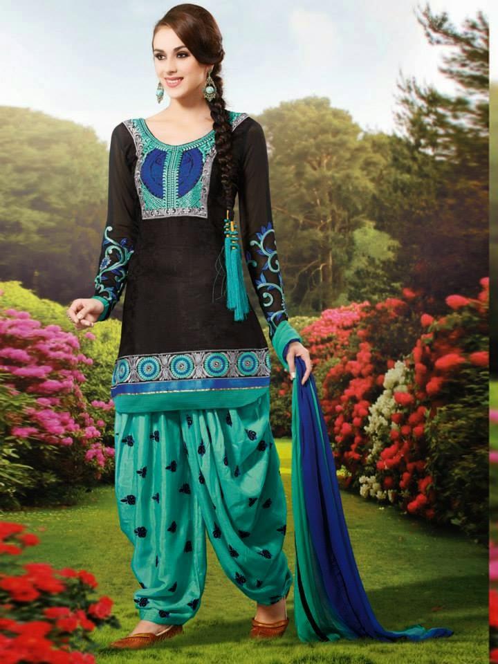 Fabulous Amp Stylish Patiala Suits For Girls By Natasha