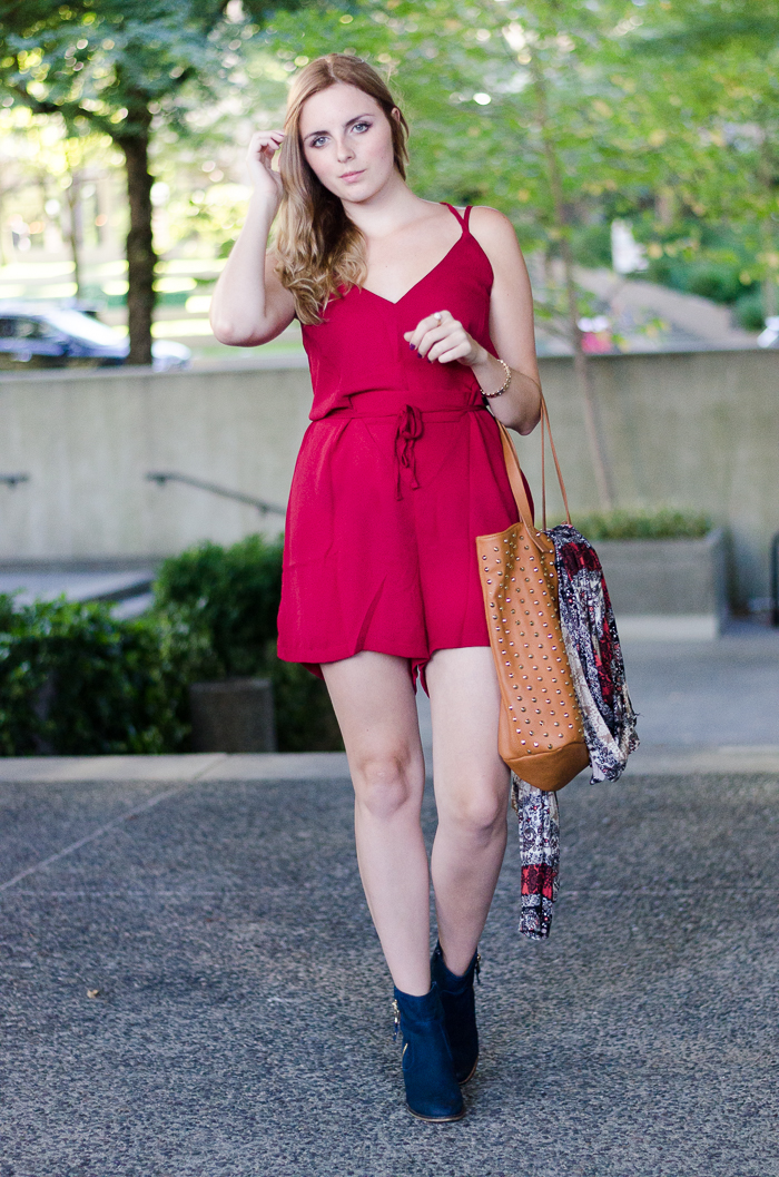 How to Style a Romper