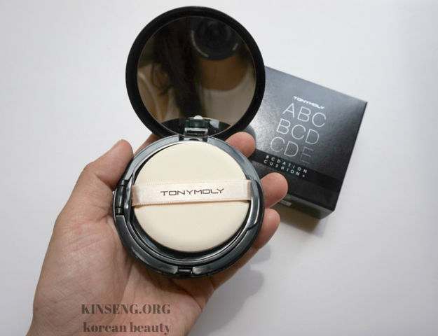 TonyMoly BCDation Cushion+ Review (02 Skin Beige)