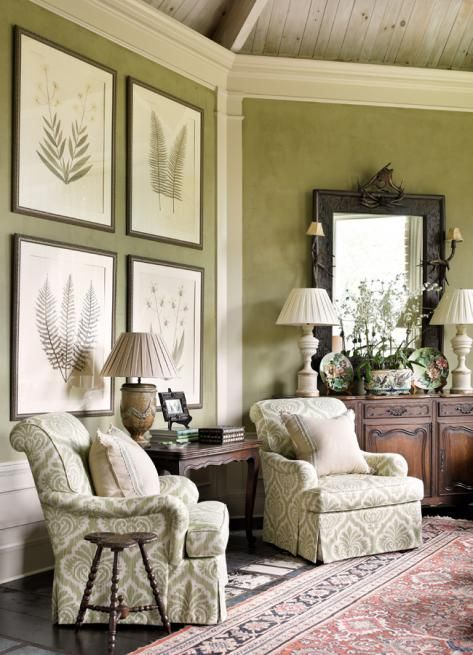 Anthropologie Home Living Room