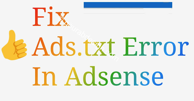 activate ads.txt on blogger