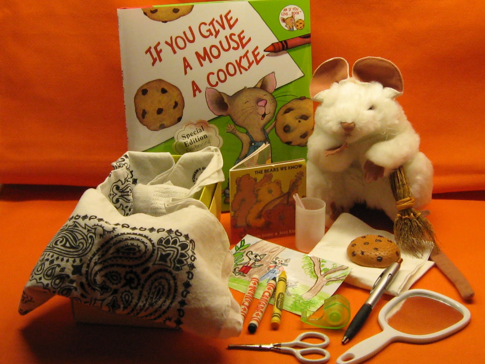 if you give a mouse a cookie craft child care options resource and referral if you give a 8213