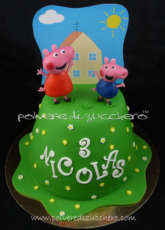 Tutorial Torta Peppa Pig E George Per My Cake Design La