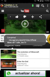 TubeMate YouTube Downloader v2.3.9 Terbaru For Android
