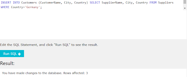 SQL INSERT INTO SELECT