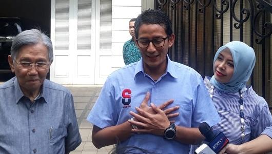 Berbeda Dengan Prabowo, Sandiaga Tolak Hadiri Mayday