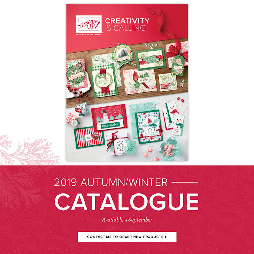STAMPIN' UP! AUTUMN/WINTER CATALOGUE 2019