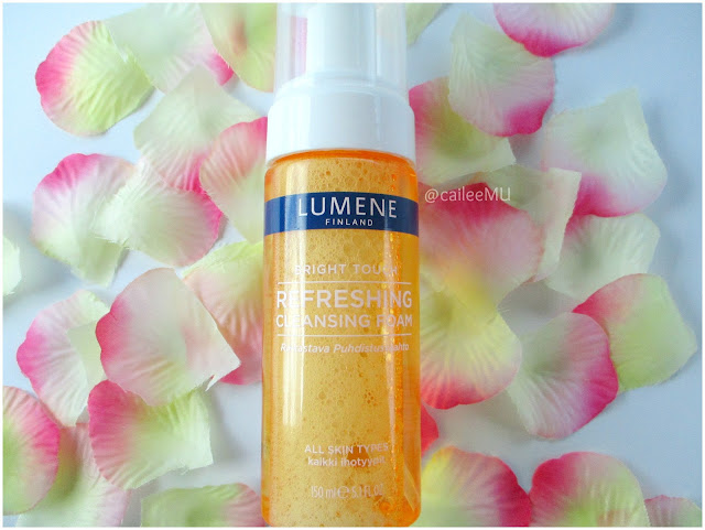 Lumene Finland Bright Touch Refreshing Cleansing Foam