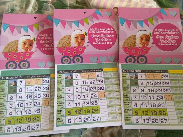 tempah kalendar 2018