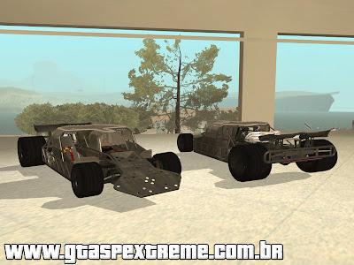 Flipper Car - Velozes e Furiosos 6 para GTA San Andreas