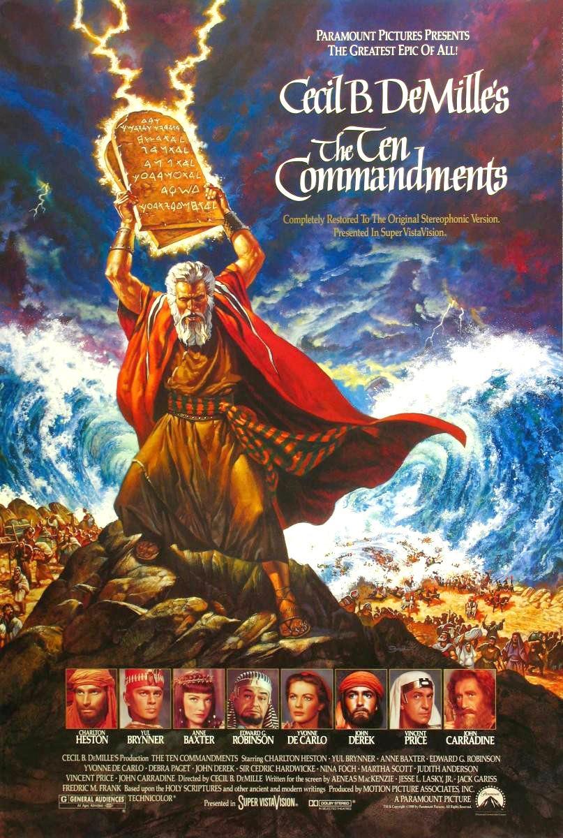 The Movie Man: The Ten Commandments (1956)