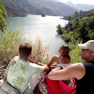 Picture of people enjoying nature at Canary Islands