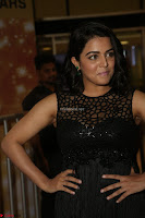Wamiqa Gabbi in a sleeveless Black Designer Transparent Gown at 64th Jio Filmfare Awards South ~  Exclusive 121.JPG