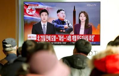 Míssil da Coréia do Norte pode atingir os EUA