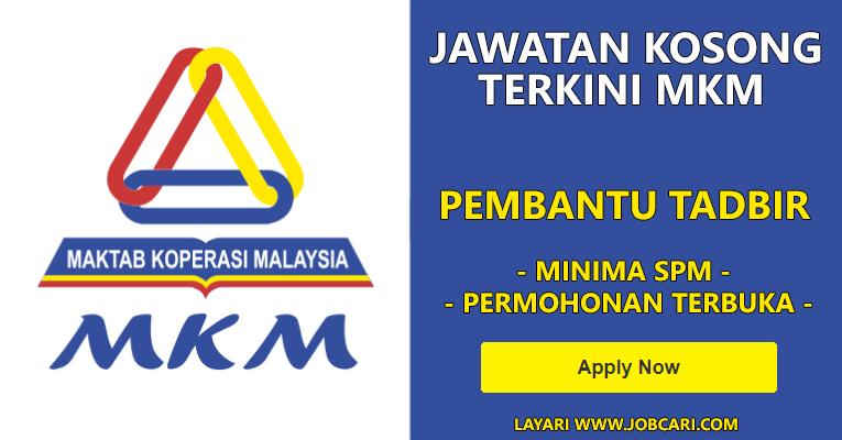 Jawatan Kosong di Maktab Koperasi Malaysia MKM