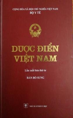 Dược điển Việt Nam - NXB Y Học