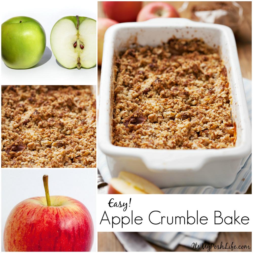 Easy Apple Crumble Bake