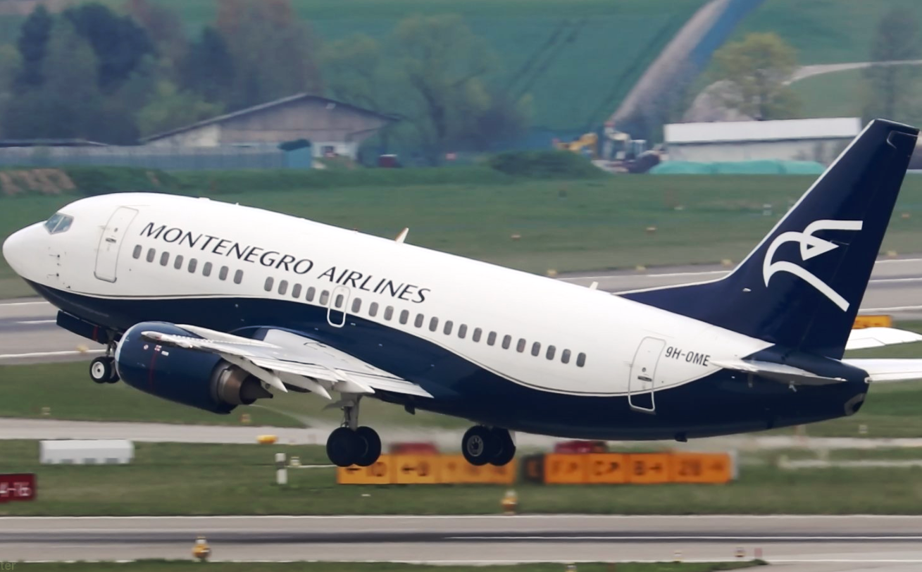 Montenegro Airlines Ends Boeing Operations