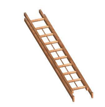 Como hacer una escalera manuales de como hacerlo tu mismo - Como hacer escalera ...