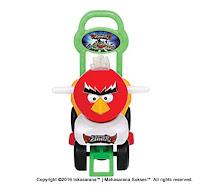 Mobil Mainan Anak SHP CB610 Captain Bird Red
