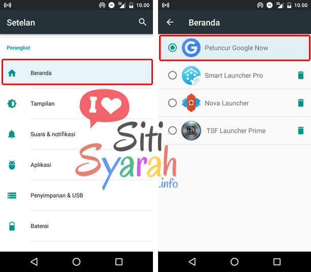 apa fungsi launcher android