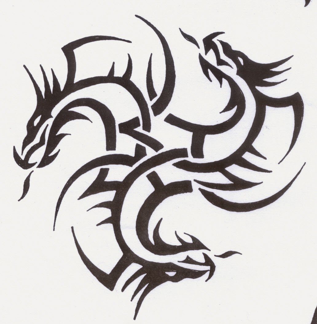 pictures of dragon tattoos