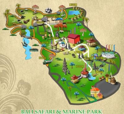 Taman Safari Indonesia III di Gianyar - Bali Bali Safari marine Park - Gianyar - Bali