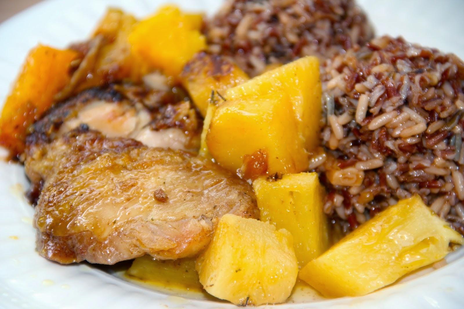 Cocinar es vivir y bordar tambi n curry de pollo con for Cocinar con mango