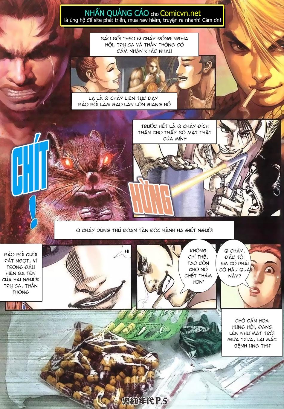 Hỏa Hồng Niên Đại Hắc Cốt Đường chap 112 - Trang 3