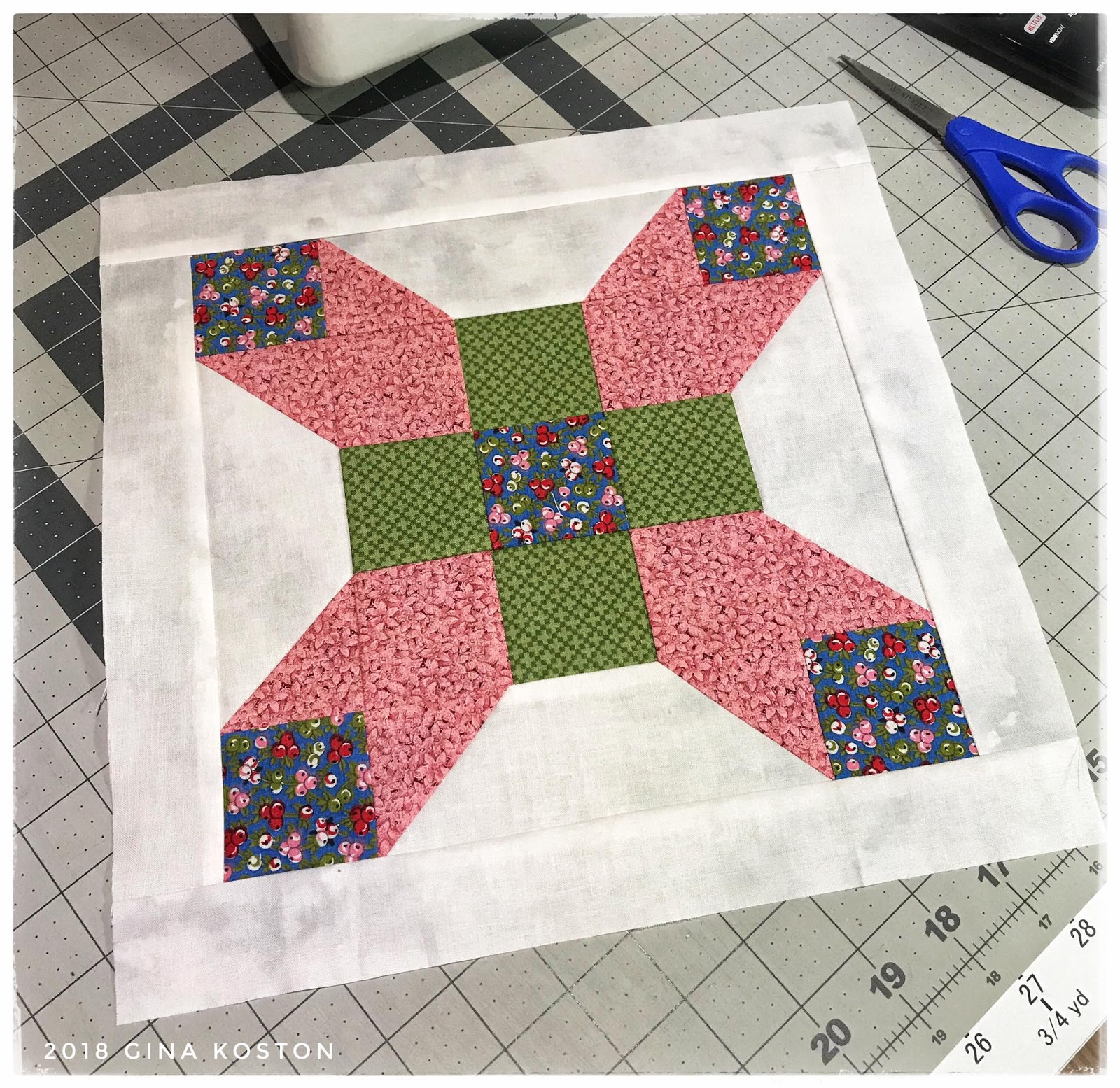 Gina'sCustomCreations: Fun on the Farm with Quilt In A Day