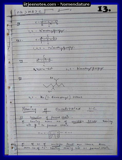 Nomenclature CHEMISTRY3