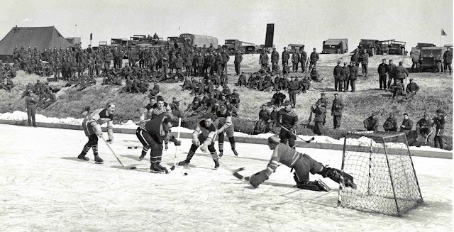 Many of these troops were surprised to find in Korea a climate not much different from that which they had left in Canada, with cold winters meaning frozen rivers where they could play their favourite sport.