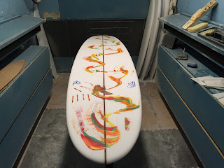 Sanclemente Surfer Shaper Artist Paul Carter