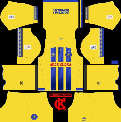 9889d6a08b4 Pahang FA 2019 Kit - Dream League Soccer Kits - Kuchalana