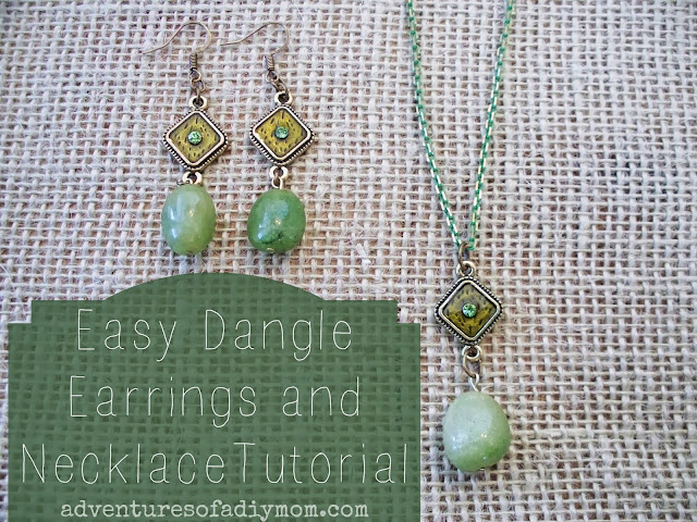 How to Make Easy Dangle Earrings and Necklace