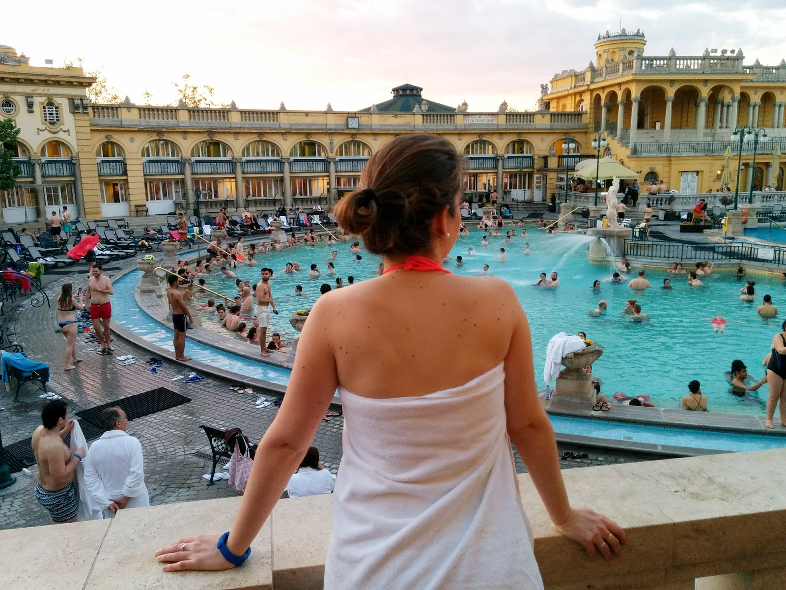 szechenyi thermal baths budapest instagrammable instagram worthy spot photography