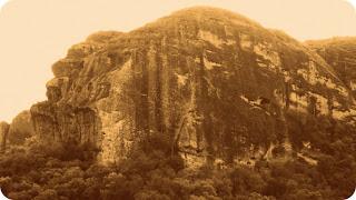 A Pedra do Segredo, em Caçapava do Sul, tem 160 Metros de Altura