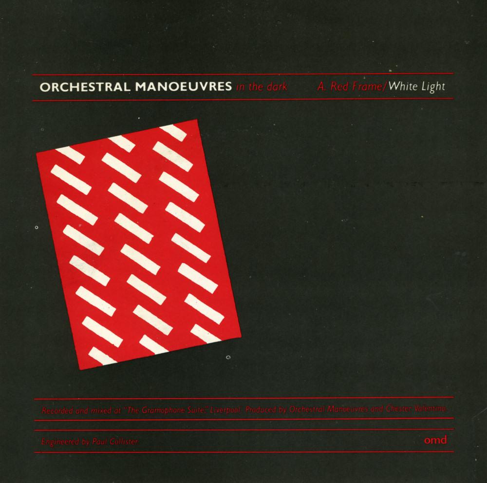 Music On Vinyl Red Frame White Light Orchestral