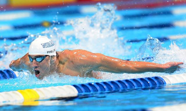 Nage Papillon Phelps