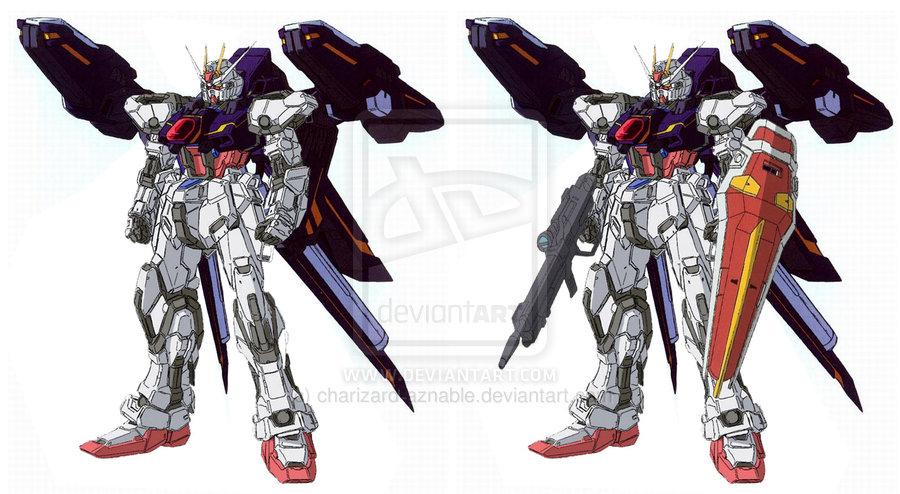 Gundam For The Barrel: 大光明株式會社: 2013年5月22日的電腦繪圖日記-MG Strike用裝備Multi Launcher Pack