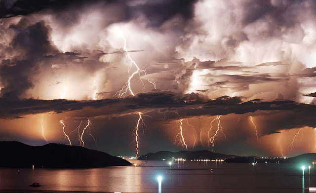 Amazing, Clouds, extreme, Storm, Lightning, Nature, Power of nature, Severe Weather
