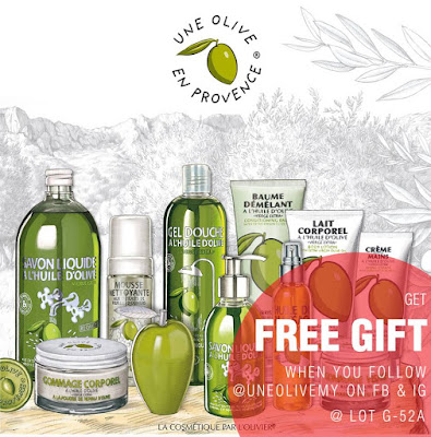 Une Olive en Provence Malaysia Free Gift