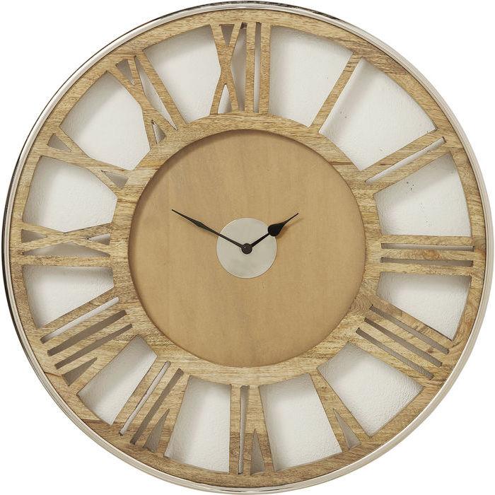 de554c15ce7c Dizajnové nástenné hodiny RANGER. Hodiny na stenu z mangového dreva a kovu. hodiny  Reaction
